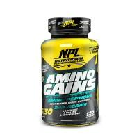 NPL Amino Gains - 120 capsules Photo