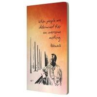 Mandela Notebooks: Rainbow Journal Determined Sunset A5 Photo