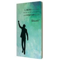 Mandela Notebooks: Rainbow Journal Conquers Galaxy A5 Photo
