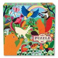 eeBoo Children's Puzzle - Busy Meadow Photo