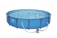 Bestway - 4.27m Steel Pro Max Frame Pool Set Photo