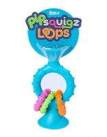 Fat Brain Toys Pip Squigz Loops - Teal Photo