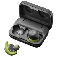 Jabra Elite Sport True Wireless Sports Earbuds - Grey & Green Photo