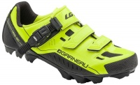 Louis Garneau Slate MTB Shoes - Fluo Yellow Photo