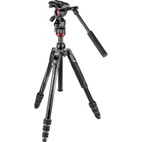 Manfrotto Befree Live Alu Twist Tripod With Befree Live Video Head Photo