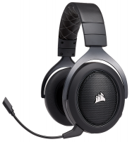Corsair HS70 Wireless Gaming Headset - Carbon Photo