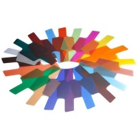 20 Colour Camera Photographic Colour Gel Filter Set Photo