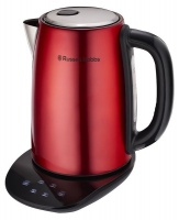 Russell Hobbs - 2200W Digital Kettle - Red Photo