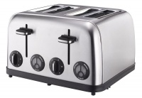 Russell Hobbs - 1750W Stainless Steel 4-Slice Toaster - Silver Photo