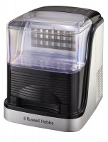 Russell Hobbs - Clear Square Ice Maker - Black Photo
