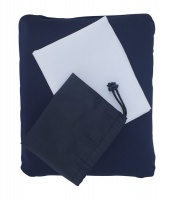 Campground Memory Foam Compact Pillow - Navy Blue Photo