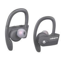Volkano Sprint Series True Wireless Bluetooth Earbuds - Black Photo