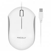 Macally Optical USB Mouse - White Photo