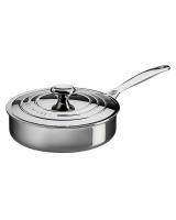Le Creuset Professional Stainless Steel Saute Pan Photo