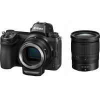 Nikon Z6 Mirrorless Camera with 24-70mm Z Lens & FTZ Mount Photo