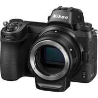 Nikon Z6 Mirrorless Camera with FTZ Mount Adapter Photo