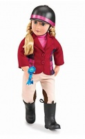 "Our Generation Deluxe Doll With Book Lily Anna 18"" Blonde Photo"