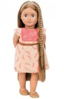 "Our Generation Hair play Doll Portia 18"" Chestnut Photo"