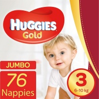 Huggies Gold - size 3 Jumbo Pack - 76's Photo