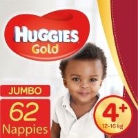 Huggies Gold - size 4 Jumbo Pack - 62's Photo