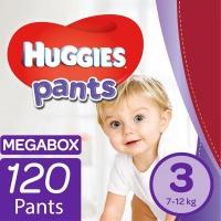 Huggies - Nappy Pants Size 3 Mega Box - 120's Photo