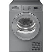 Smeg 60cm 8kg Silver Freestanding Heat Pump Tumble Dryer - DHTS81LSA Photo