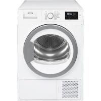 Smeg 60cm 8kg White Freestanding Heat Pump Tumble Dryer - DHTW81ESA Photo