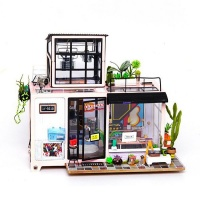 Robotime Kevin's Studio - 3D Wooden Puzzle Gift with LED Photo