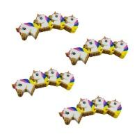 Erasers Bulk Pack Unicorns 12 set Photo