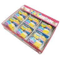 Erasers Bulk Pack Cup Cake 12 set Photo