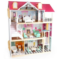TopBright 3-Story Furnished Doll House Photo