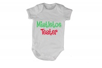 Mistletoe Tester! - Baby Grow Photo