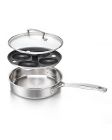 Le Creuset Classic Stainless Steel Egg Poacher Photo