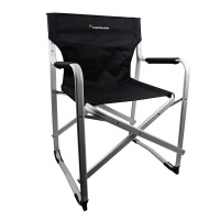 Kaufmann Director Aluminium Chair - Black Photo