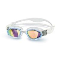 Head Superflex Mirrored Swimming Goggles - White/Blue Photo