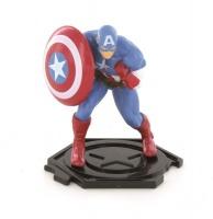 Comansi Avengers 8.5cm Figurine - Captain America Photo