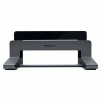 Apple Macally Aluminium Vertical Stand For Macbook Air/Pro - Space Grey Photo