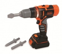 Smoby Black & Decker Cordless Drill Electronic Photo