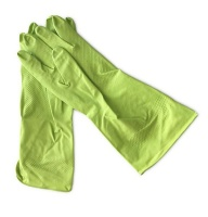 Latex Household Gloves Superior Green Large - Pack of 240 Pairs Photo