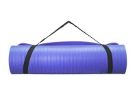 NBR Yoga and Fitness Mat 8mm Blue Photo