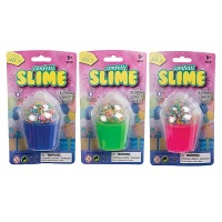 Bulk Pack x 6 Novelty Slime Cupcake With Confetti Photo
