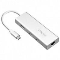 Macally USB-C Mini Dock - Aluminium Photo