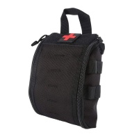 Tactical IFAK Medical Molle Pouch - Black Photo