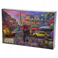Raining in Paris 1500 Piece Photo
