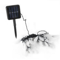 Iconix A 30LED Solar String Ghost Lights-Warm White Photo