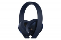 Sony Playstation Limited Edition Navy 500 Million - Gold Wireless Headset Photo