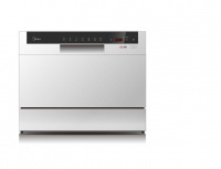 Midea - 6.5 Litre Countertop Dishwasher - White Photo