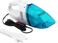 60W 12V Mini Car Portable Handheld Vacuum Cleaner Blue Photo