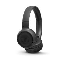 JBL T500BT Wireless On-Ear Headphones - Black Photo