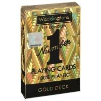 Waddingtons No1 Playing Cards - Gold Edition Photo